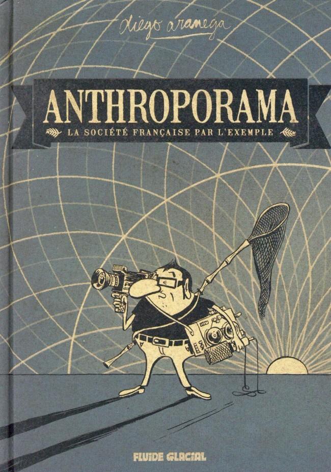 Couverture de Anthroporama - La société française par l'exemple