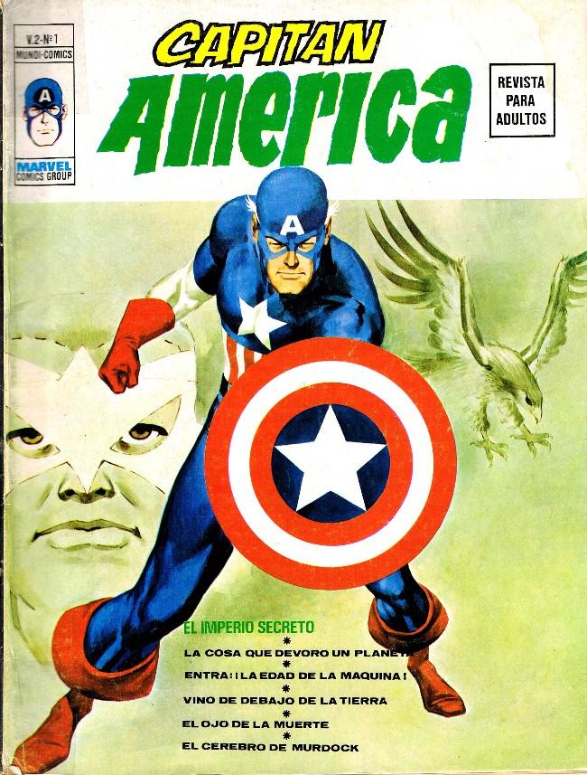 Couverture de Capitán América (Vol. 2) -1- El Imperio Secreto