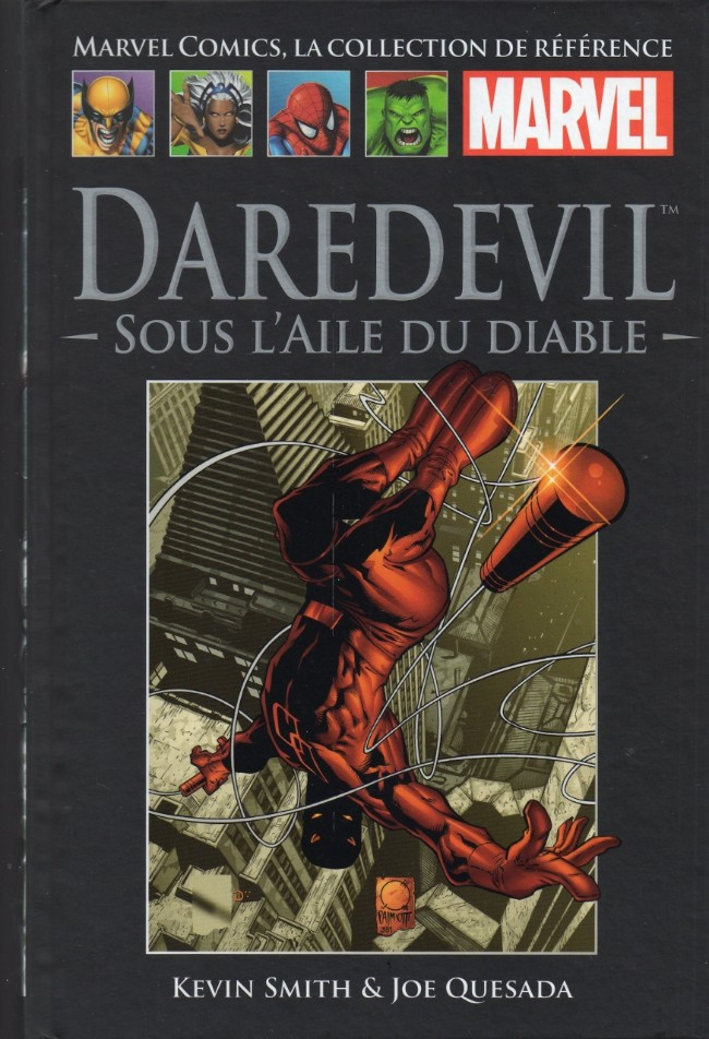 Couverture de Marvel Comics - La collection (Hachette) -3120- Daredevil - Sous l'aile du diable