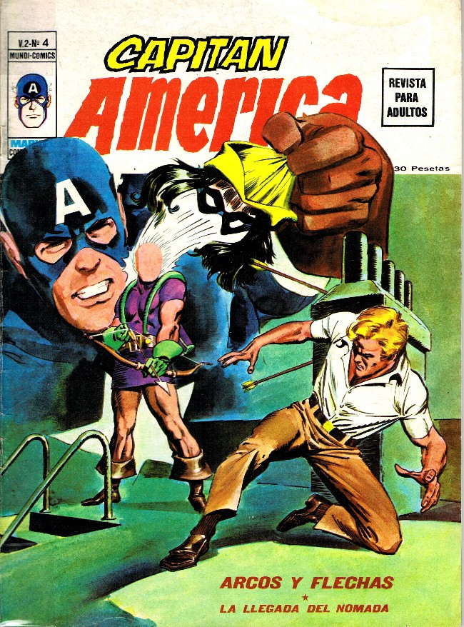 Couverture de Capitán América (Vol. 2) -4- Arcos y flechas