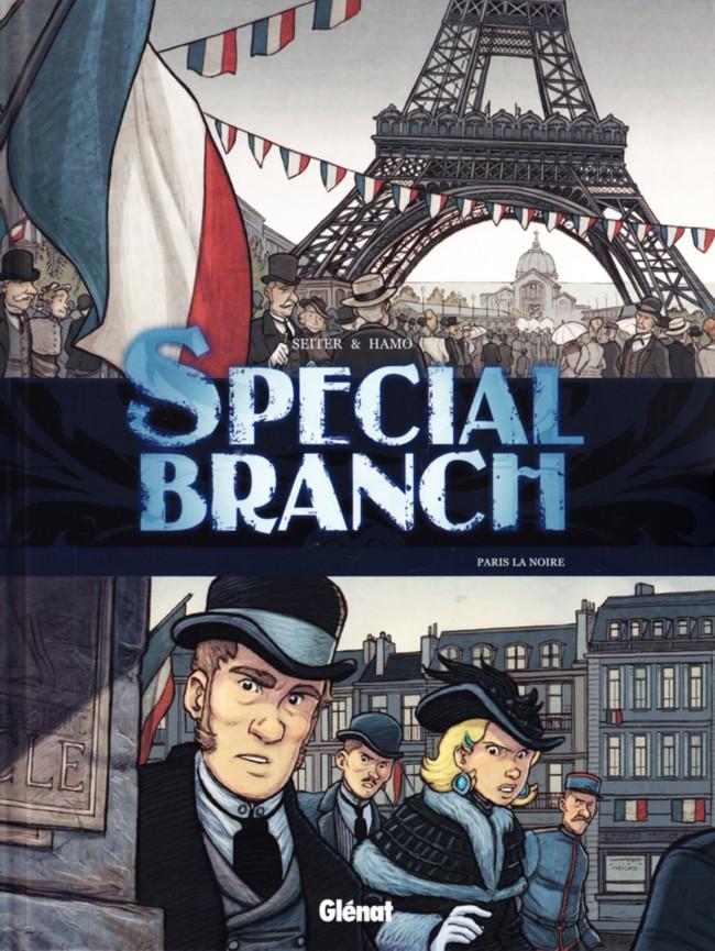 Couverture de Special Branch -5- Paris la noire