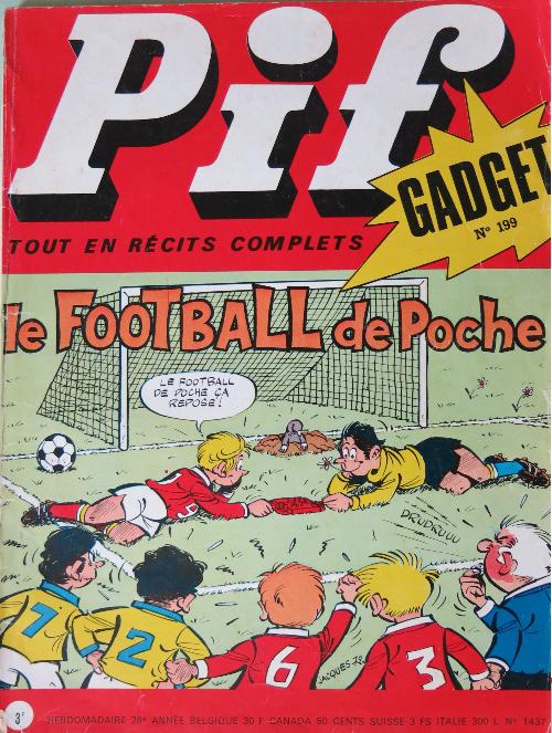 Couverture de Pif (Gadget) -199- le football de poche
