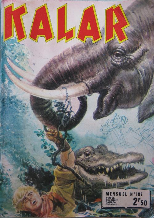 Couverture de Kalar -187- La malédiction de Maikala