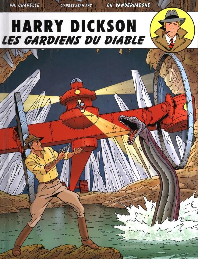 Couverture de Harry Dickson (Vanderhaeghe/Zanon) -10- Les gardiens du diable
