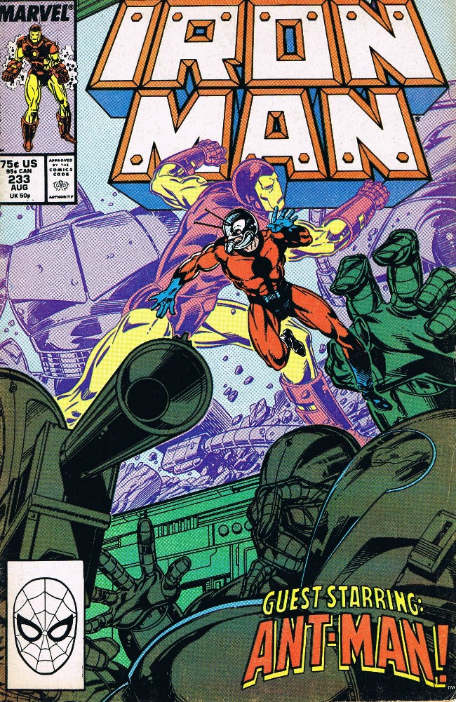 Couverture de Iron Man Vol.1 (Marvel comics - 1968) -233- Slaughterday!