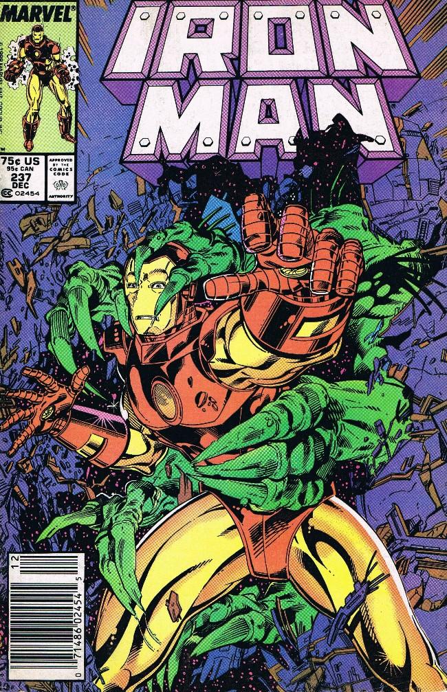 Couverture de Iron Man Vol.1 (Marvel comics - 1968) -237- Star Hunter!
