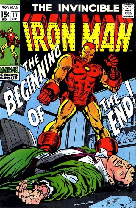 Couverture de Iron Man Vol.1 (Marvel comics - 1968) -17- The Beginning of the End!