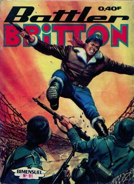 Couverture de Battler Britton -91- Dans la fureur du combat