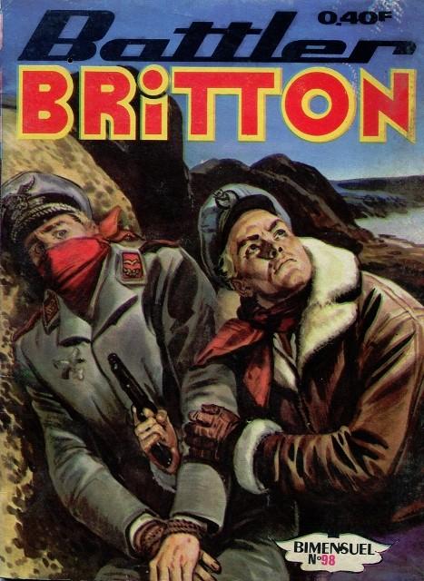 Couverture de Battler Britton -98- La vallée mystérieuse