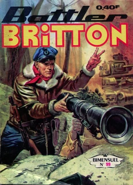 Couverture de Battler Britton -99- Opération « Amiral »