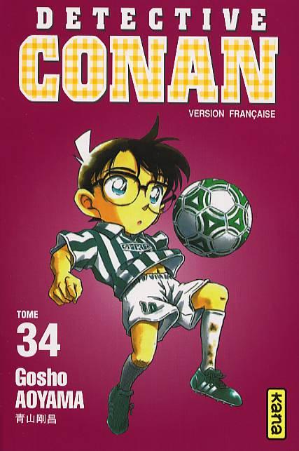 Couverture de Détective Conan -34- Tome 34