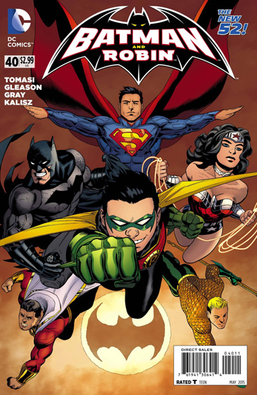 Couverture de Batman and Robin (2011) -40- Superpower - The dynamic duo