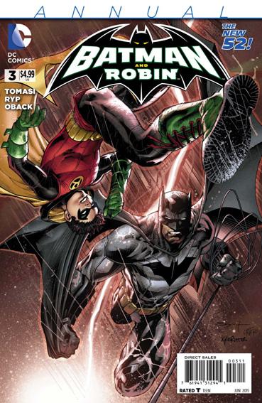 Couverture de Batman and Robin (2011) -AN03- Moonshot