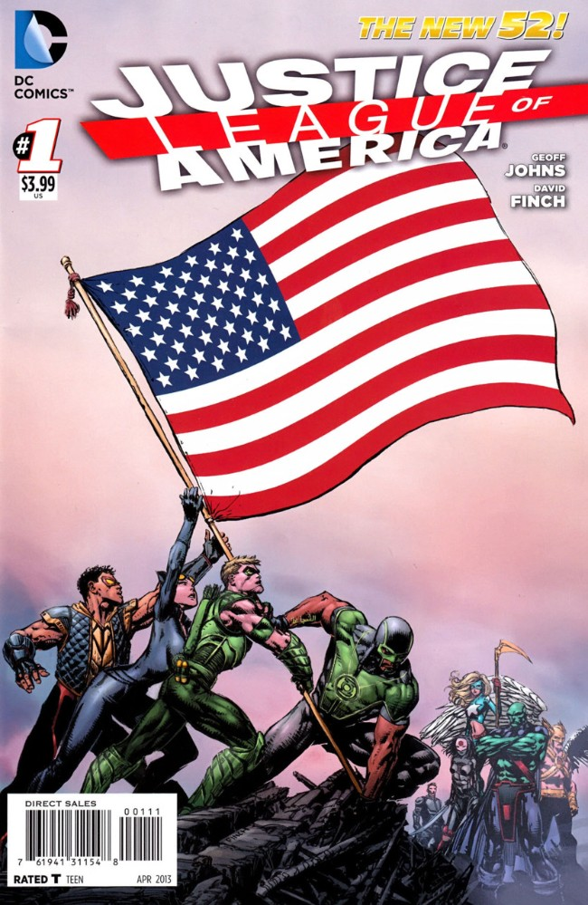 Couverture de Justice League of America (2013) -1- World's Most Dangerous, Chapter One
