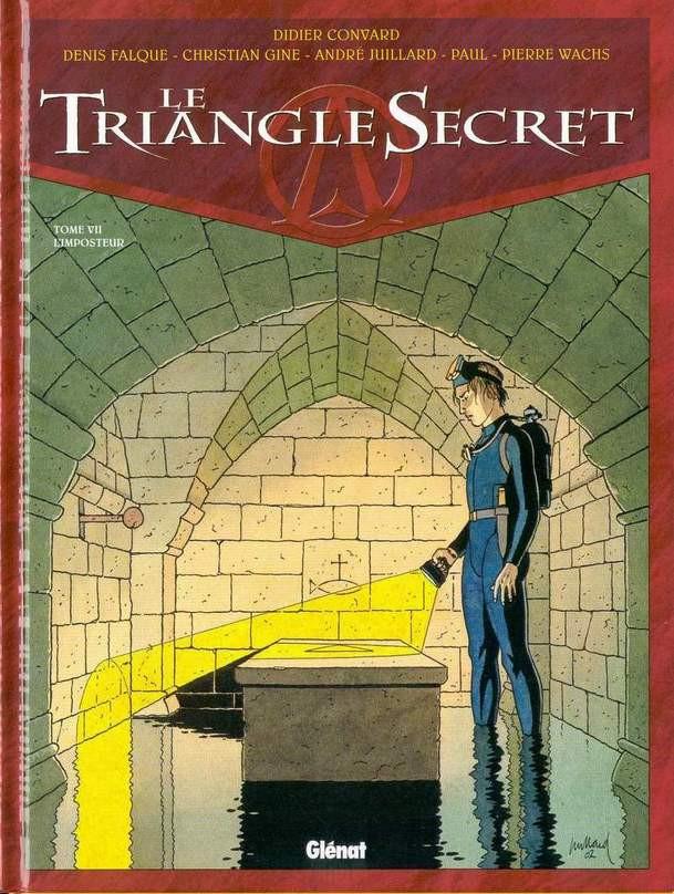 Couverture de Le triangle Secret -7- L'imposteur