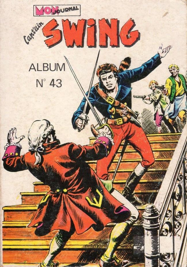 Couverture de Capt'ain Swing! (1re série) -Rec043- Album N°43 (du n°159 au n°161)