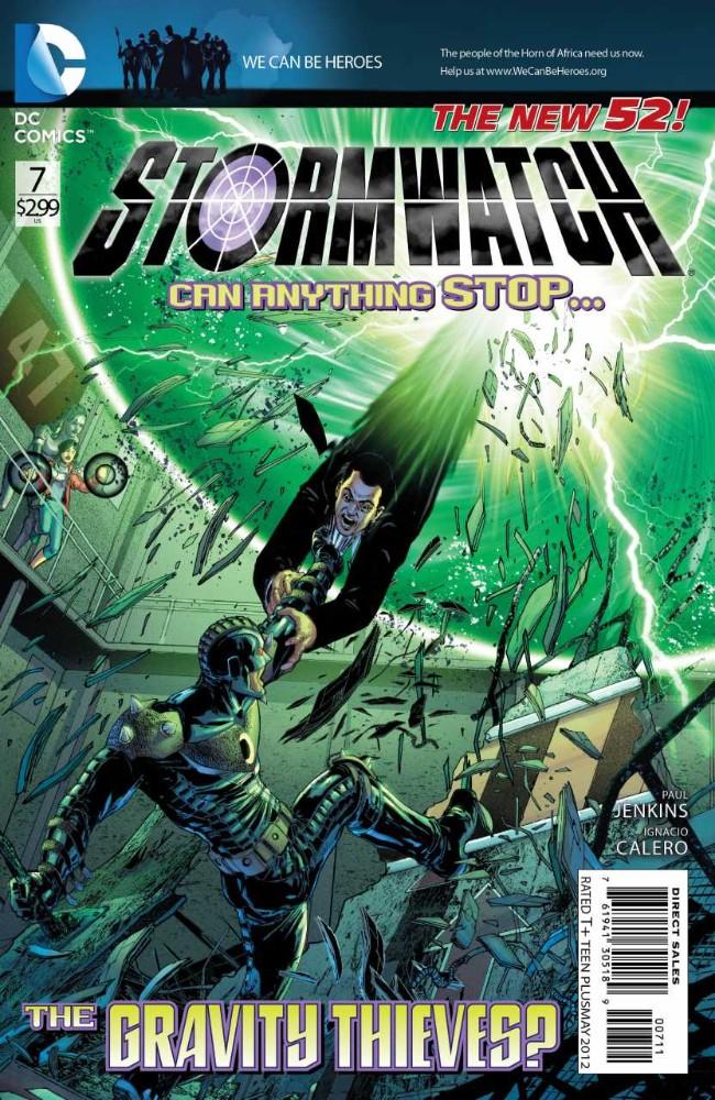 Couverture de Stormwatch (2011) -7- Supercritical, Part One