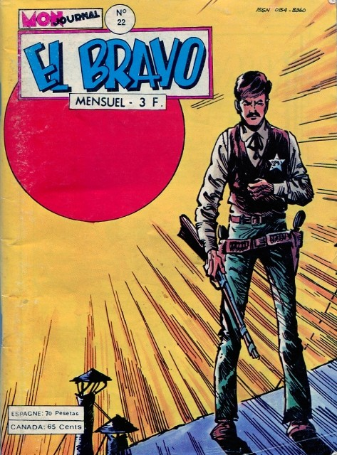 Couverture de El Bravo (Mon Journal) -22- La mine tragique