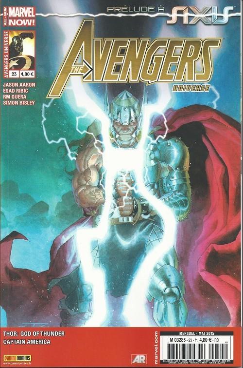 Couverture de Avengers Universe (1re série - 2013) -23- En Route vers Axis !
