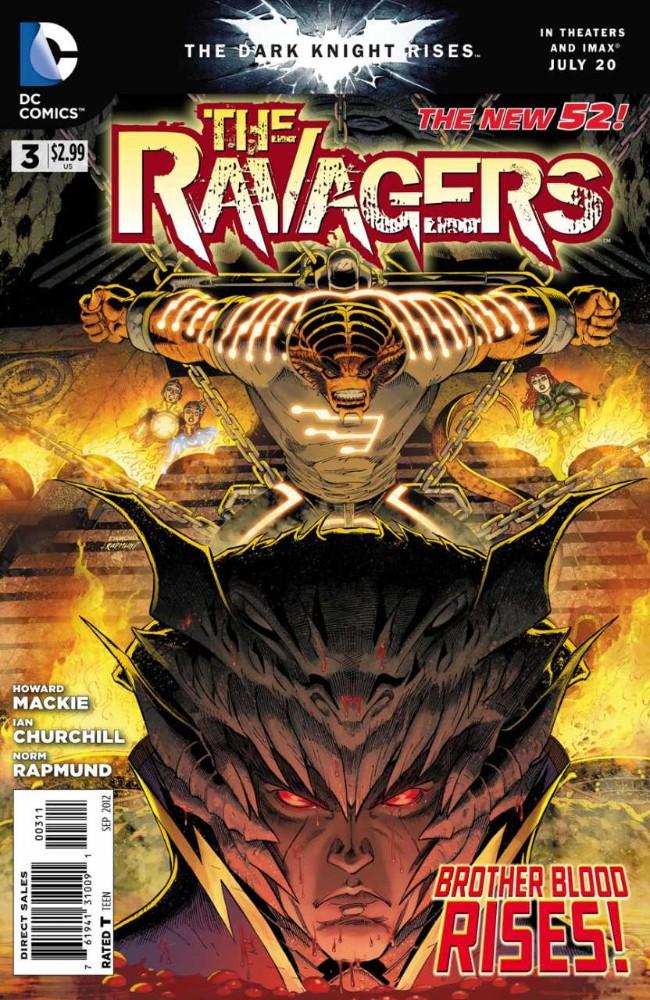 Couverture de Ravagers (The) (2012) -3- Blood