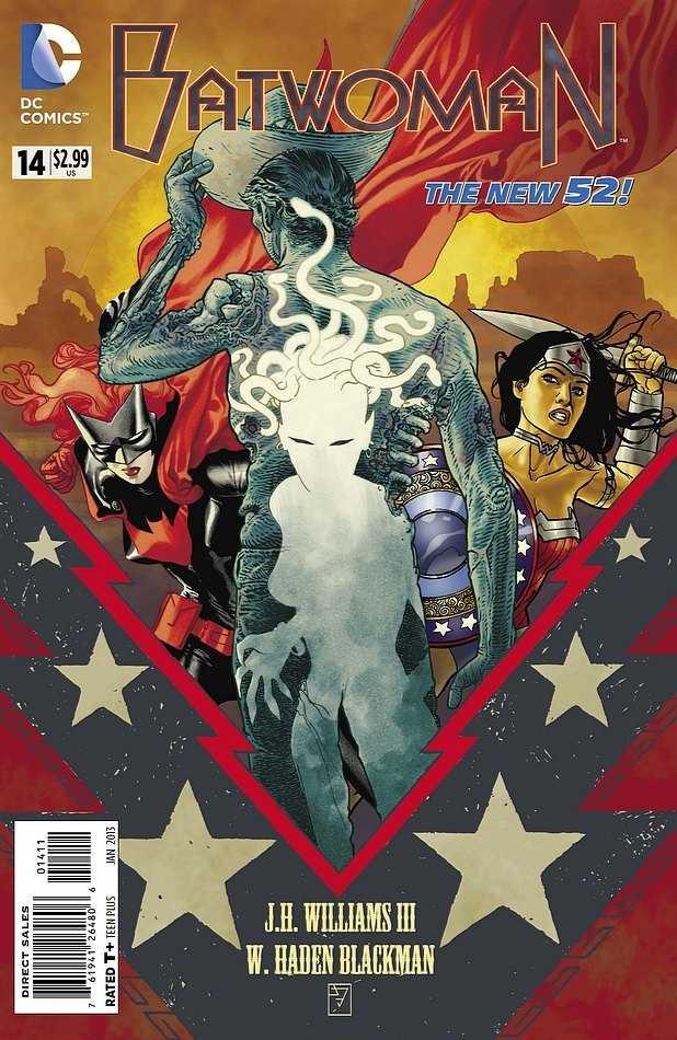 Couverture de Batwoman (2011) -14- World's Finest, Part III