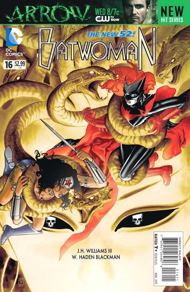 Couverture de Batwoman (2011) -16- World's Finest, Part IV