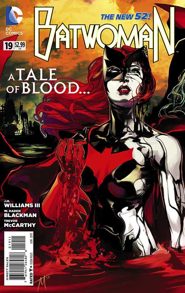 Couverture de Batwoman (2011) -19- This Blood is Thick: Wounds