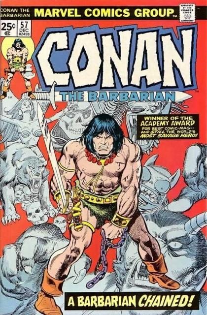 Couverture de Conan the Barbarian Vol 1 (Marvel - 1970) -57- Incident in Argos!