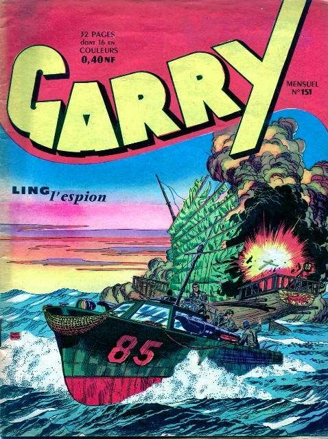 Couverture de Garry (sergent) (Imperia) (1re série grand format - 1 à 189) -151- Ling l'espion