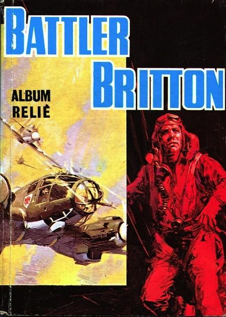Couverture de Battler Britton -Rec79- Album Relié N°79 (du n°463 au n°466)