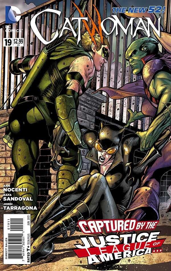 Couverture de Catwoman (2011) -19- Slam