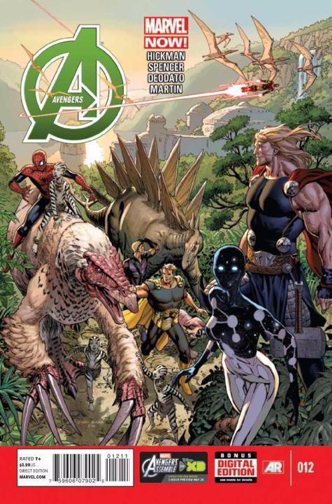 Couverture de Avengers Vol.5 (Marvel comics - 2013) -12- Evolve