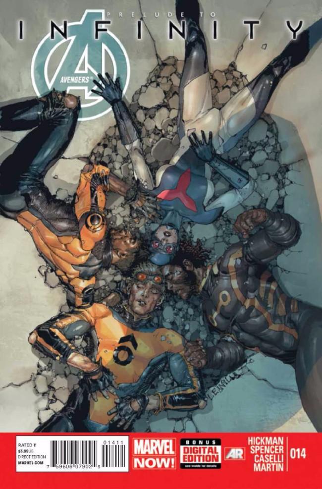 Couverture de Avengers Vol.5 (Marvel comics - 2013) -14- The Signal