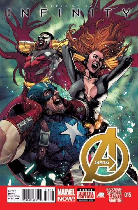 Couverture de Avengers Vol.5 (Marvel comics - 2013) -15- Sent and received