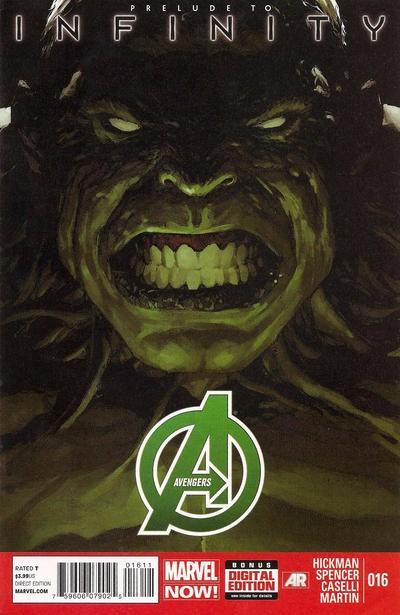 Couverture de Avengers Vol.5 (Marvel comics - 2013) -16- To the end