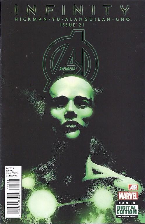 Couverture de Avengers Vol.5 (Marvel comics - 2013) -21- Emancipation