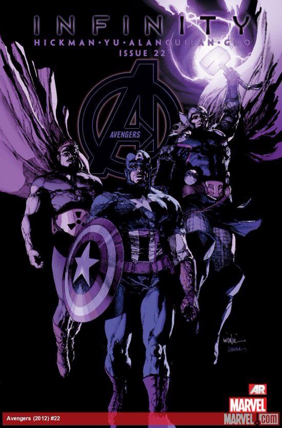 Couverture de Avengers Vol.5 (Marvel comics - 2013) -22- to the Earth