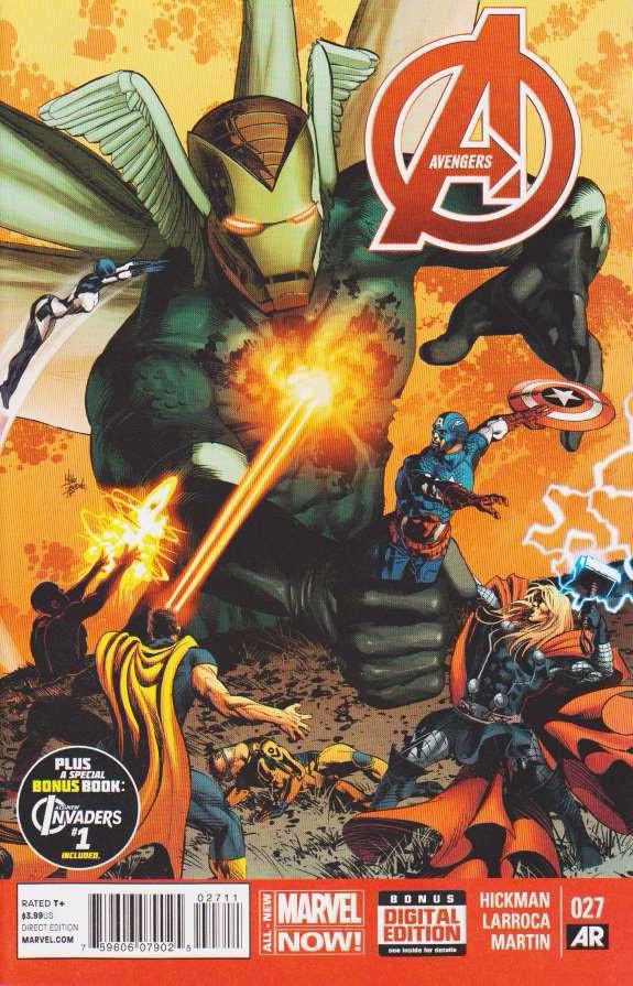 Couverture de Avengers Vol.5 (Marvel comics - 2013) -27- Only Dirt...Six Feet Deep