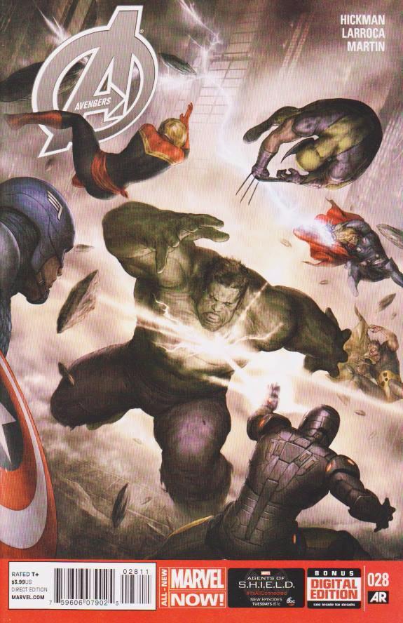 Couverture de Avengers Vol.5 (Marvel comics - 2013) -28- The Case
