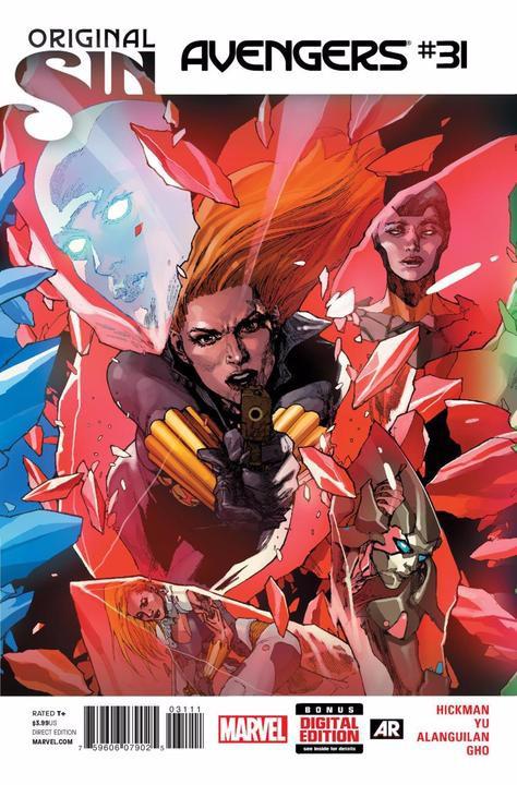 Couverture de Avengers Vol.5 (Marvel comics - 2013) -31- 500 Into the Future