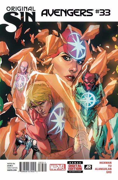 Couverture de Avengers Vol.5 (Marvel comics - 2013) -33- Fifty Thousand Into the Future