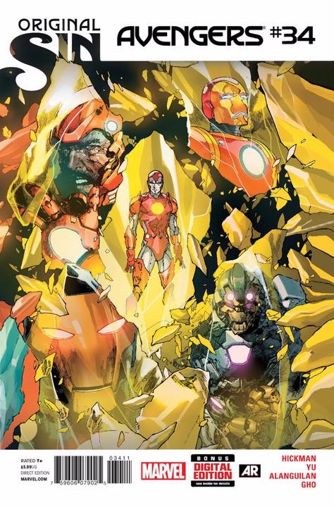 Couverture de Avengers Vol.5 (Marvel comics - 2013) -34- The Last Avenger