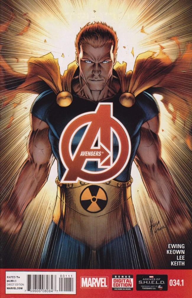 Couverture de Avengers Vol.5 (Marvel comics - 2013) -341- The World in His Hands