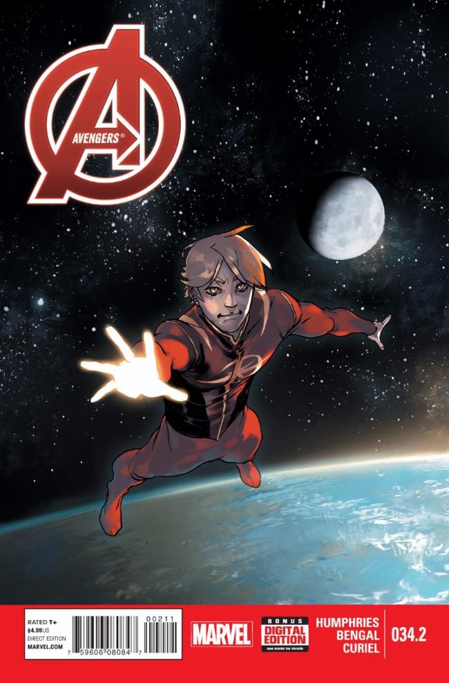 Couverture de Avengers Vol.5 (Marvel comics - 2013) -34.2- Big City
