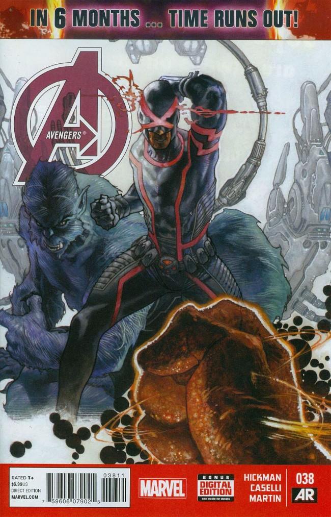 Couverture de Avengers Vol.5 (Marvel comics - 2013) -38- Origin Sites