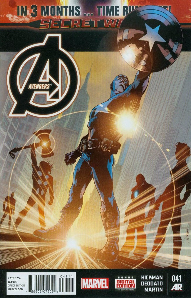 Couverture de Avengers Vol.5 (Marvel comics - 2013) -41- Over There