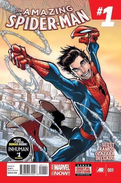 Couverture de Amazing Spider-Man (The) Vol.3 (Marvel comics - 2014) -1- Issue 1