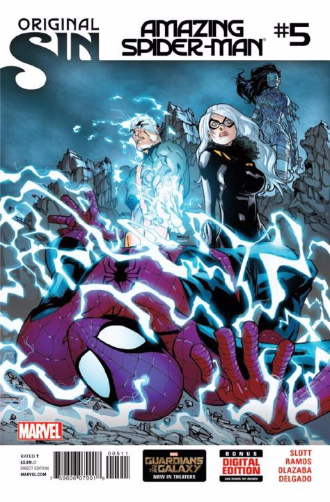 Couverture de Amazing Spider-Man (The) (2014) -5- Issue 5