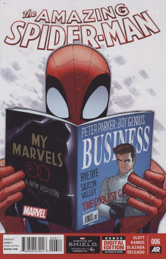 Couverture de Amazing Spider-Man (The) Vol.3 (Marvel comics - 2014) -6- Issue 6