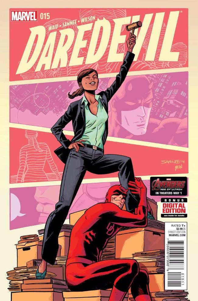 Couverture de Daredevil Vol. 4 (Marvel - 2014) -15- Untitled